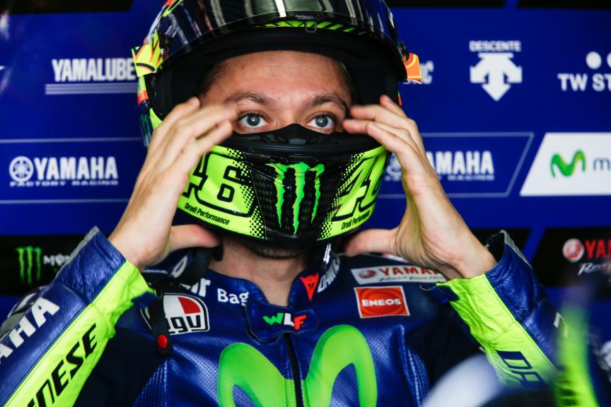 Valentino Rossi, Movistar Yamaha MotoGP, Valencia MotoGP Official Test