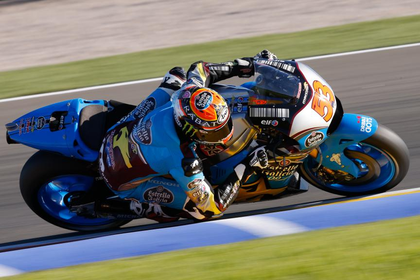 Tito Rabat, EG 0,0 Marc VDS, Valencia MotoGP Official Test