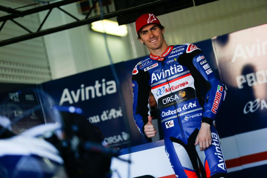 Loris Baz, Avintia Racing, Valencia MotoGP Official Test