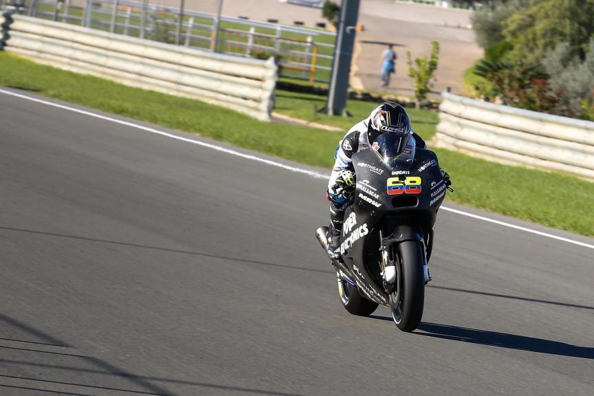 Yonny Hernandez, Aspar MotoGP Team, Valencia MotoGP Official Test