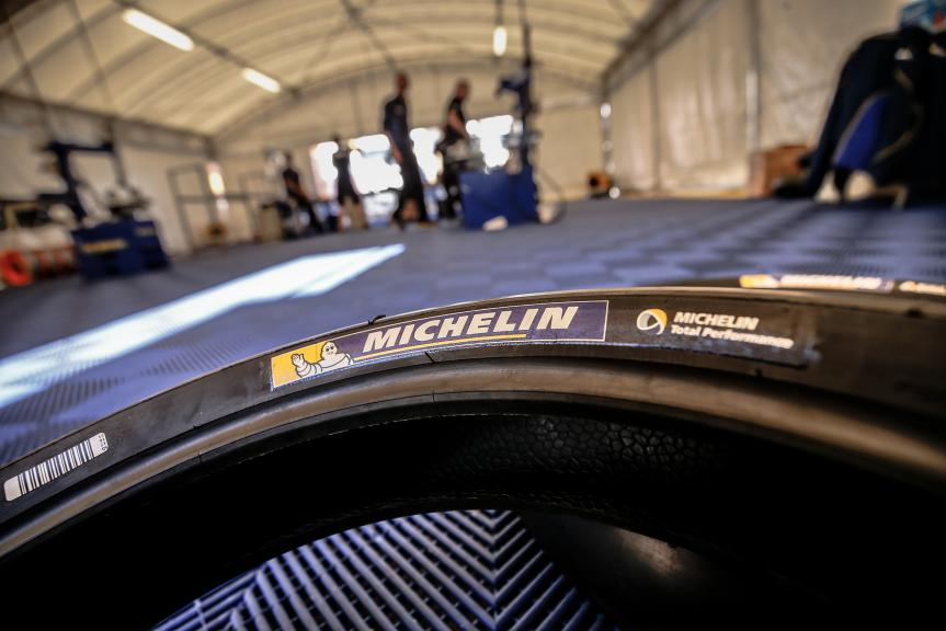 Michelin Tyre, Valencia MotoGP Official Test