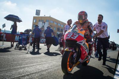 Márquez : « J'ai toujours visé le sommet du podium »