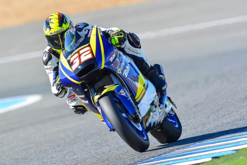Isaac Viñales, Jerez Test