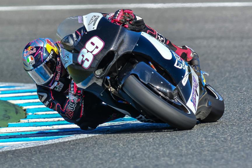 Luis Salom, Jerez Test