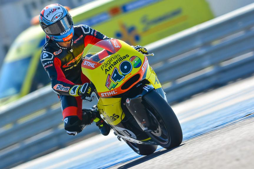 Alex Rins, Jerez Test
