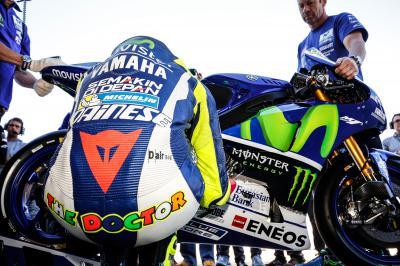 Rossi: 'Abbiamo migliorato molto la moto'