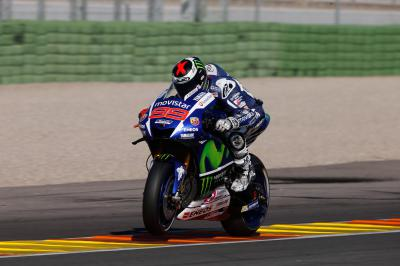 "Lorenzo: ""Today we focused on the electronics"""