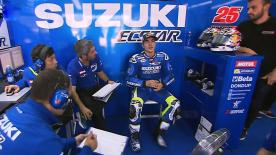 The full afternoon session from day 2 of the Official MotoGP™ Test in Valencia.