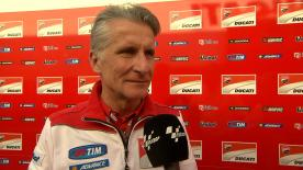 Paolo Ciabatti responds to rumours that Casey Stoner could re-join Ducati as a test rider and wildcard.