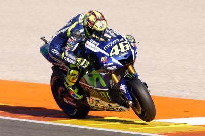 Rossi : « Nous avons bien amélioré la moto »
