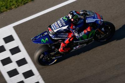 "Lorenzo: ""We are half a second slower than the last GP"""