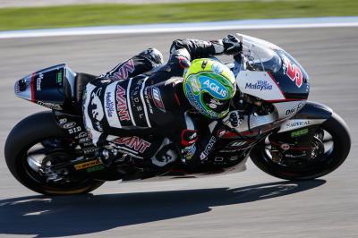Zarco mène les essais Moto2™ de lundi à Valence
