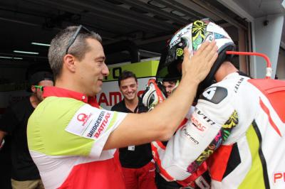 Francesco Guidotti marks his Octo Pramac Racing Team