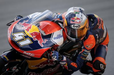 Brad Binder, el más rápido de Moto3™ en Valencia