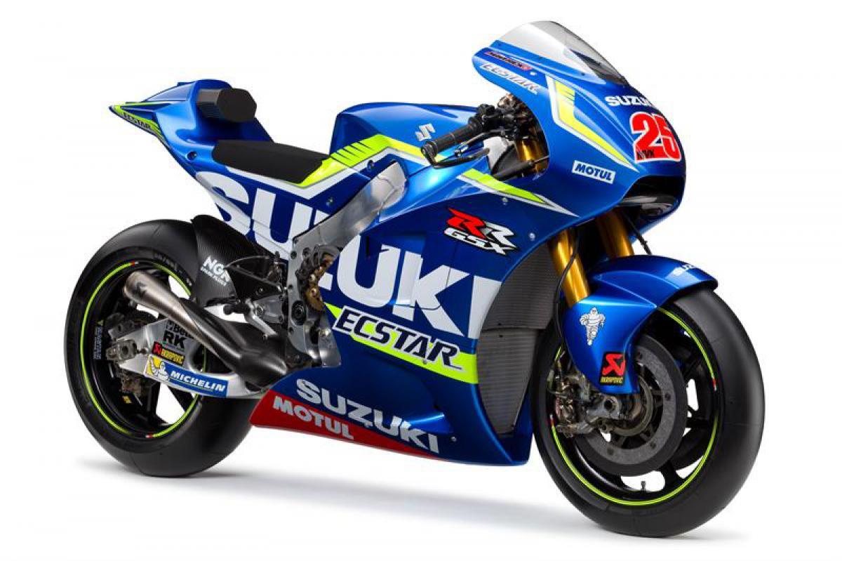 Suzuki unveil 2016 GSX-RR | MotoGP™
