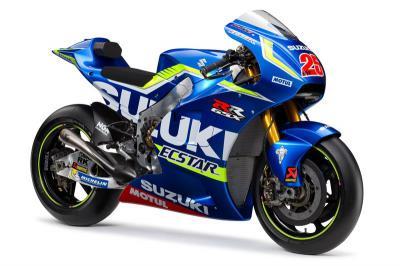 Suzuki presenta la GSX-RR 2016