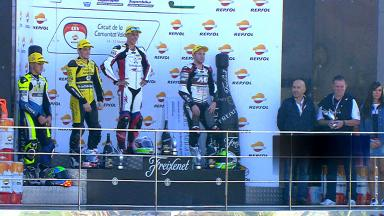 FIM CEV Repsol Valencia: Moto2 race 1 Highlights