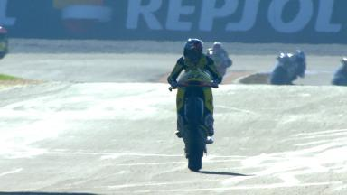 FIM CEV Repsol Valencia: Moto2 race 2 Highlights