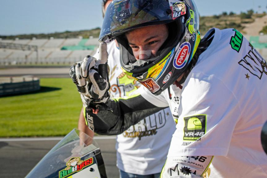 Nicolò Bulega, 2015 World Champion FIM CEV Repsol