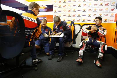 "Pedrosa: ""I took my time to adjust to the Michelin tyres'"