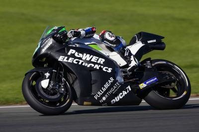 Laverty: «Tenemos una buena moto con un motor muy potente»