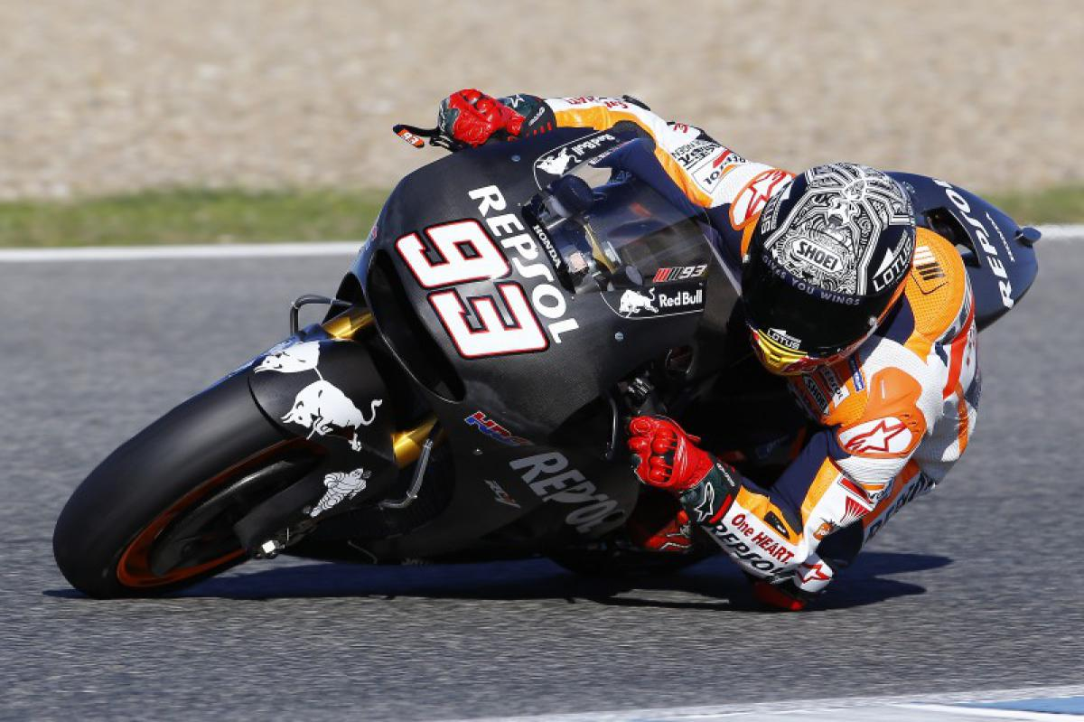 "Marquez: ""We tried the new engine"" 