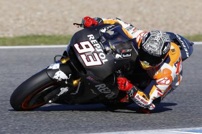 "Marquez: ""We tried the new engine"""