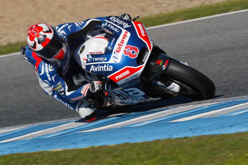 Hector Barbera, Avintia Racing, Jerez Test