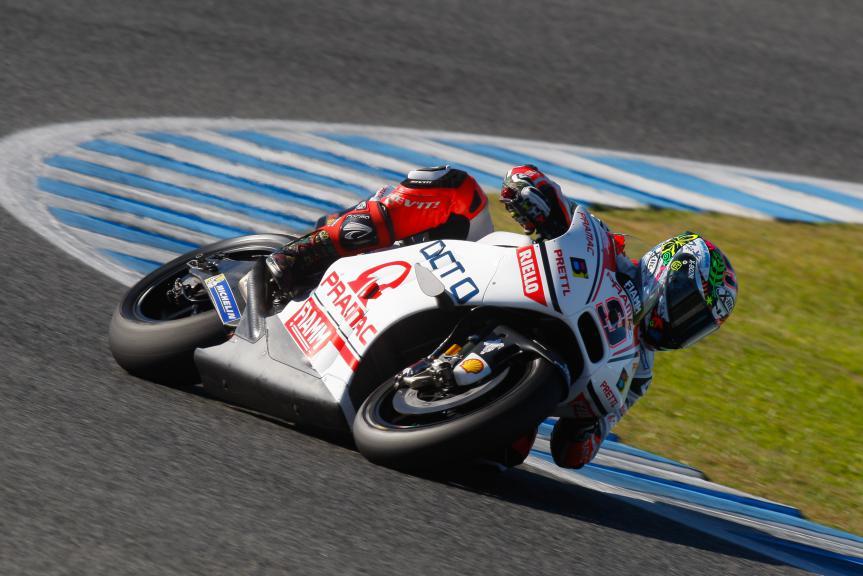 Danilo Petrucci, Octo Pramac Racing, Jerez Test