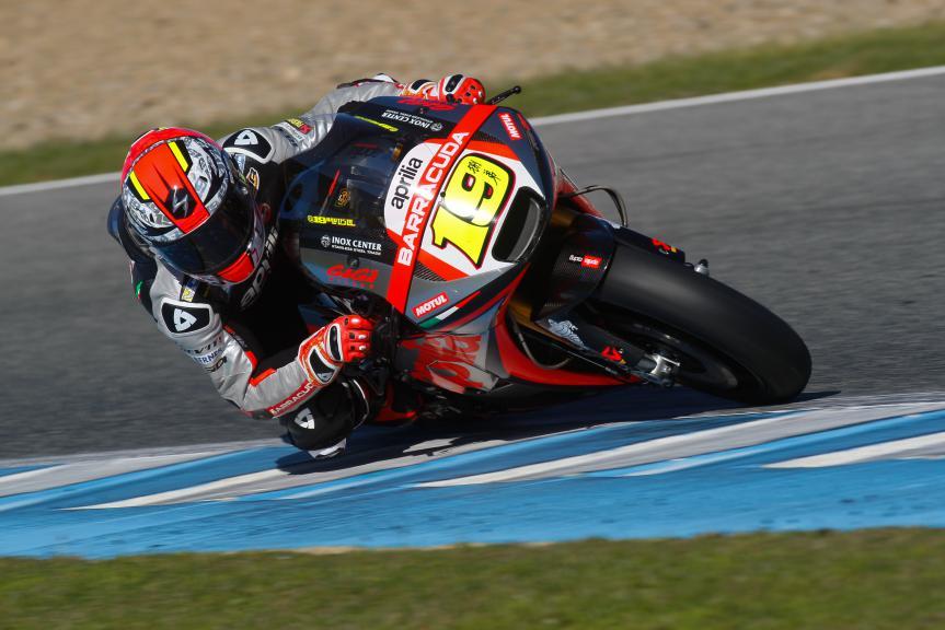 Alvaro Bautista, Aprilia Racing Team Gresini, Jerez Test