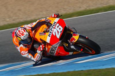 "Pedrosa: ""Compared to Valencia we have made a step'"