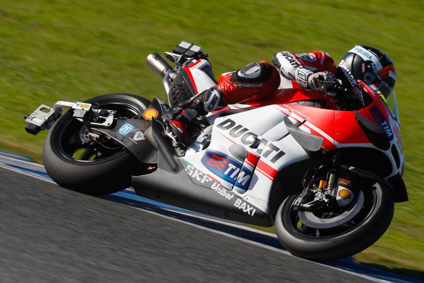 Michele Pirro, Ducati Team, Jerez Test