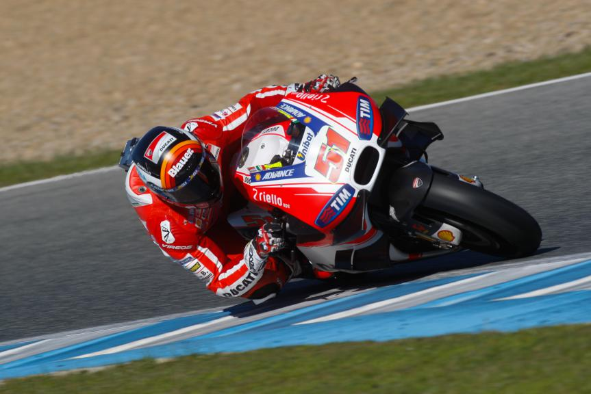 Michele Pirro, Ducati Team, Jerez Test