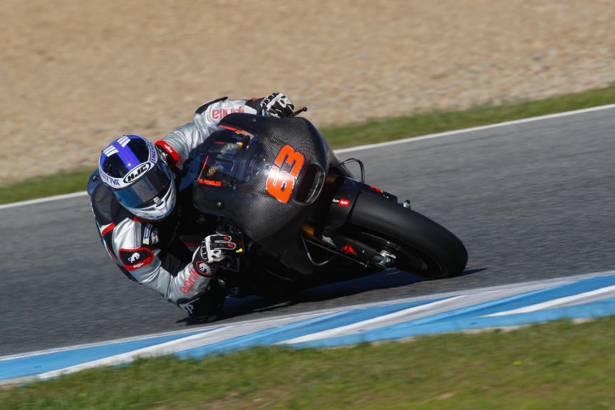 Mike Di Meglio, Aprilia Racing Team Gresini, Jerez Test