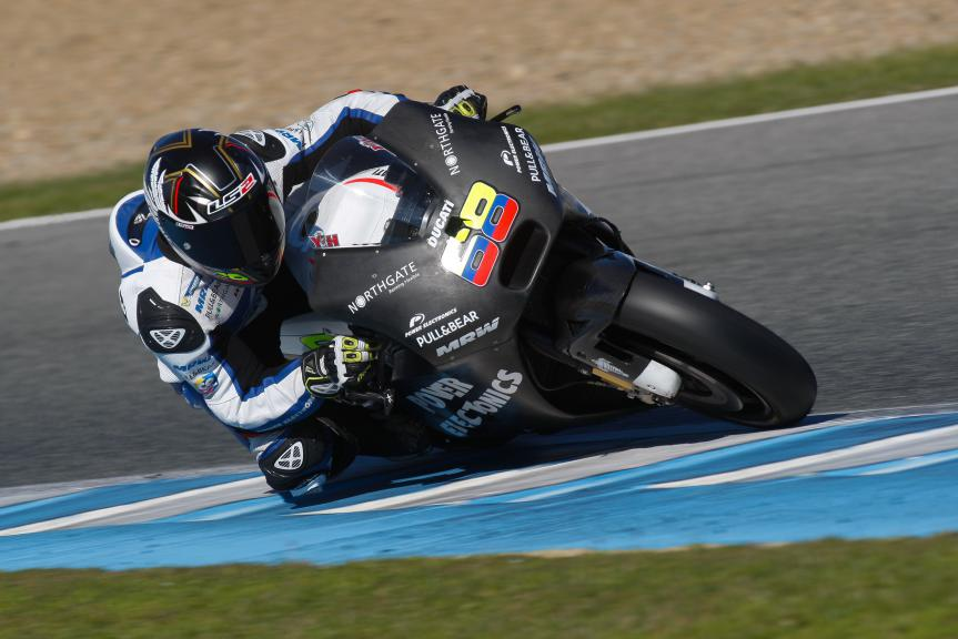 Yonny Hernandez, Aspar MotoGP Team, Jerez Test