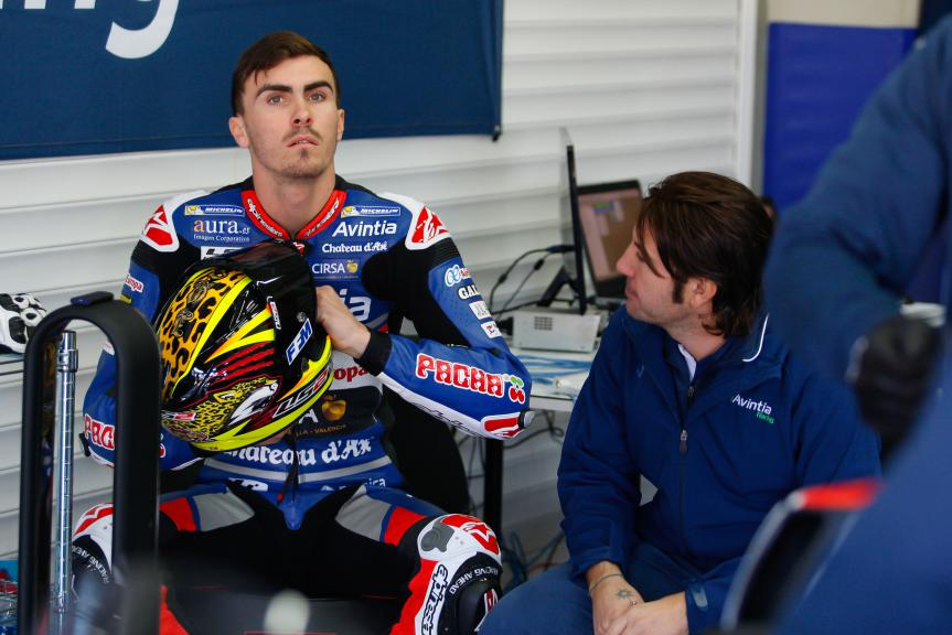 Loris Baz, Avintia Racing, Jerez Test