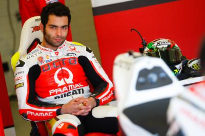 Petrucci: 'I'm satisfied with our first testing of test'