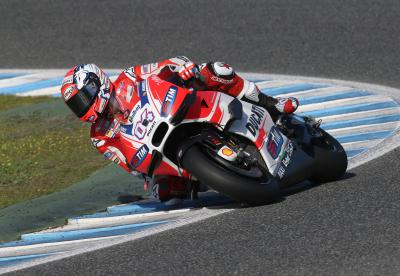 "Dovizioso: ""Ducati have done a lot of work"""
