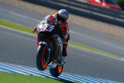 """Marquez: """"Today I had two crashes"""""""