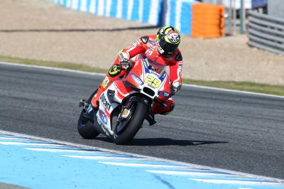 "Iannone: ""I like the way the Michelin tyres behave"""