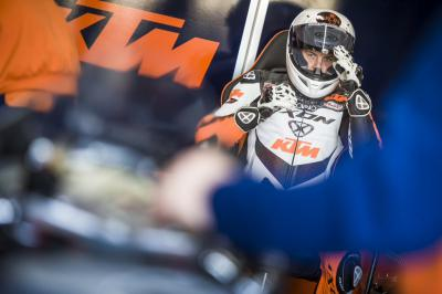 First test with KTM RC16 MotoGP™ bike for Kallio
