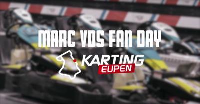 El equipo Marc VDS se divierte en el Karting Eupen