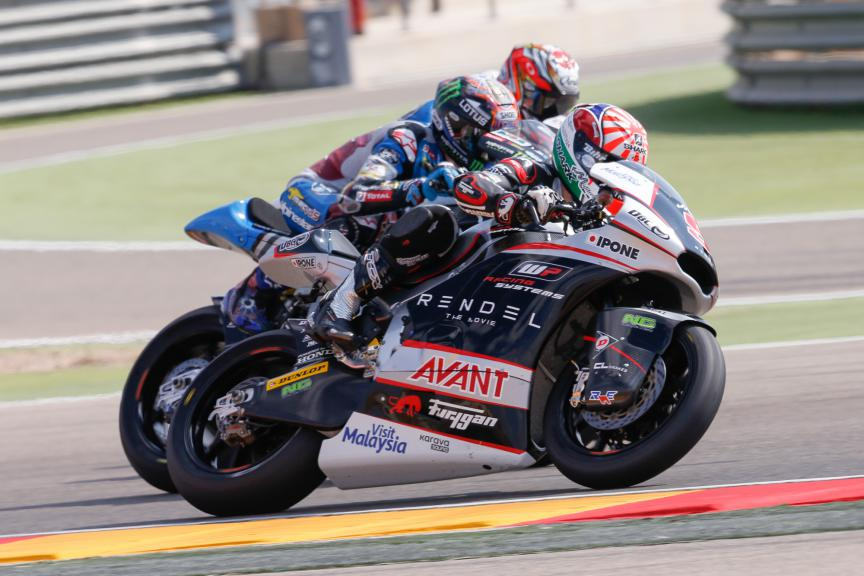 Best Overtakes, Moto2