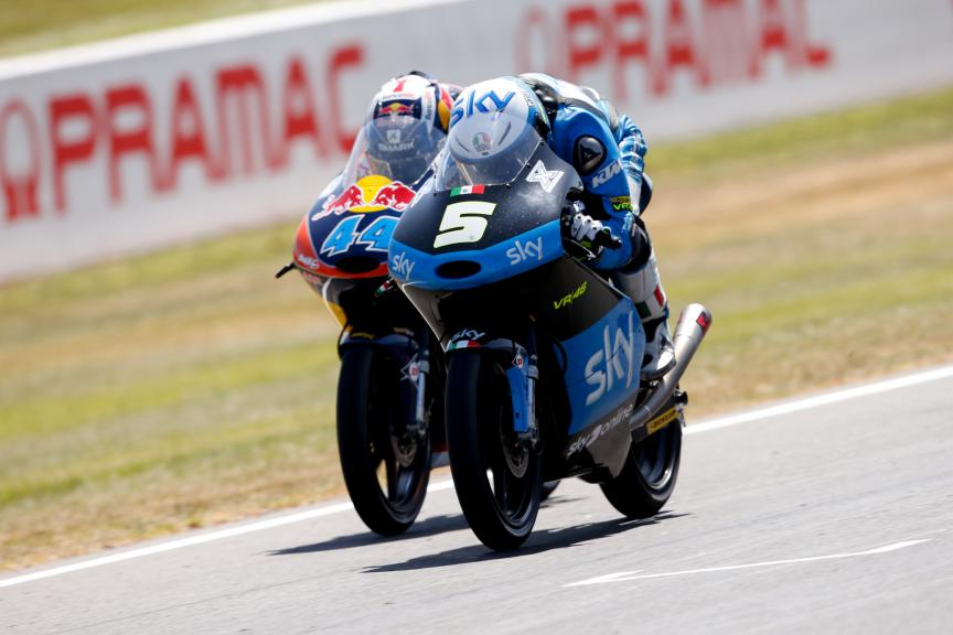 Best Overtakes, Moto3