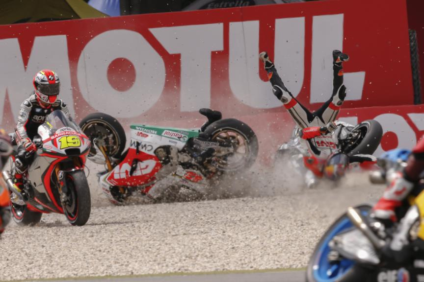 Biggest Crashes MotoGP