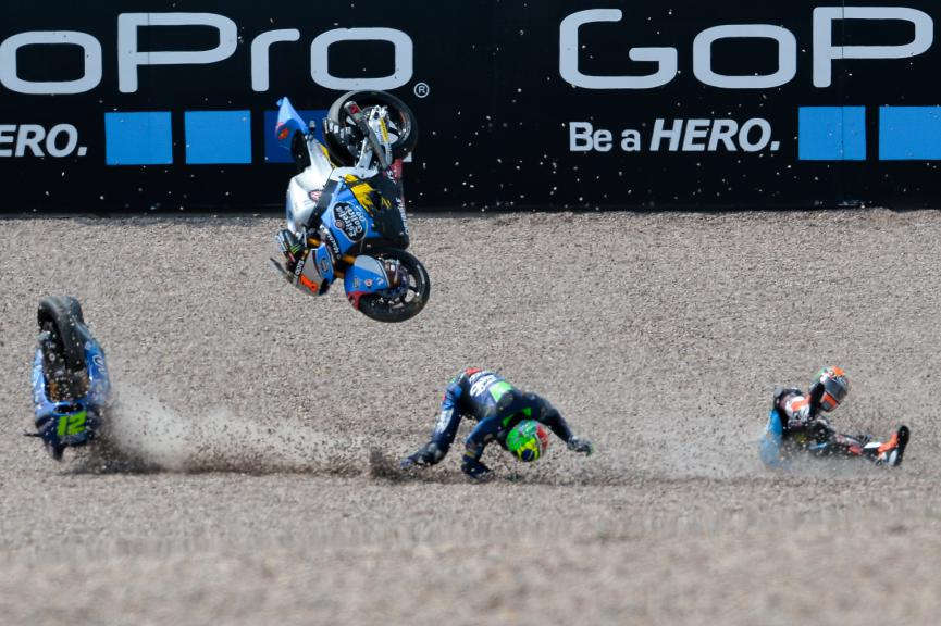 Biggest Crashes Moto2