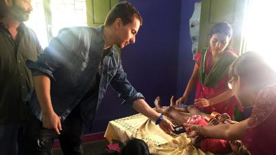 Un'emozionante viaggio in India per Lorenzo