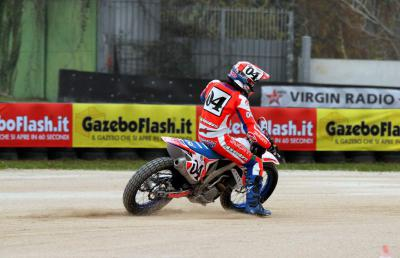 Chareye leads Dovizioso at SIC Day 2015