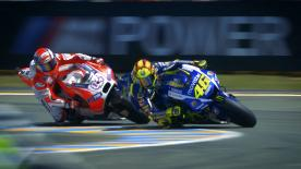 Check out the best MotoGP™ overtakes from an incredibly dramatic 2015 season that saw Jorge Lorenzo lift his third premier class title.