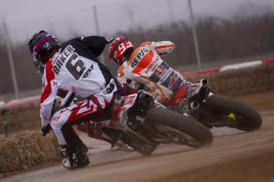 Superprestigio Dirt Track training